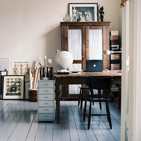 DIY modern furniture for home office scandi scandinavian style old desk