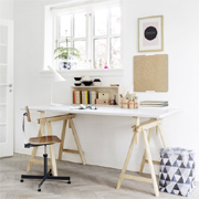 DIY ideas for home office furniture