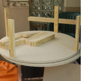 Magnificent Home Dzine Home Diy How To Make A Circular Ottoman Gmtry Best Dining Table And Chair Ideas Images Gmtryco