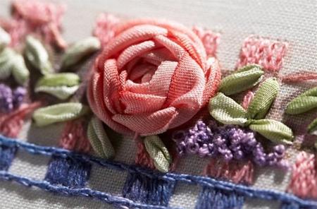 Home Dzine Craft Ideas Silk Ribbon Embroidery