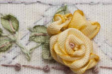 how to fabric roses