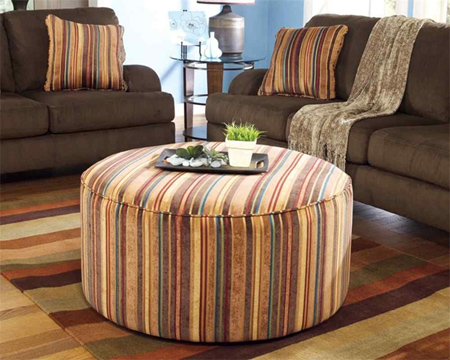 home dzine home diy how to make a circular ottoman. Black Bedroom Furniture Sets. Home Design Ideas