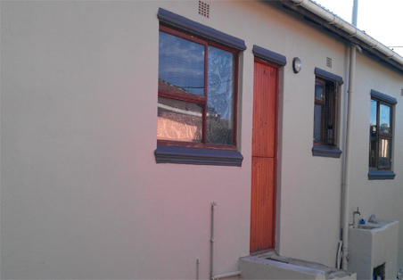 Home dzine home transformation with plascon micatex Ideal temperature for exterior painting