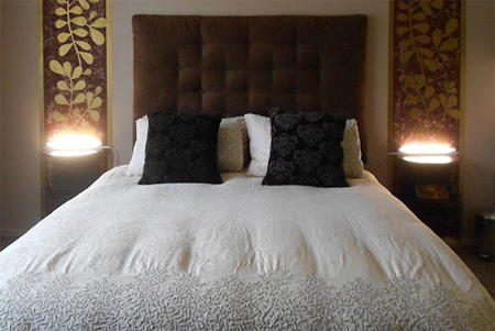 Home Dzine Bedrooms How To Make An Upholstered Headboard