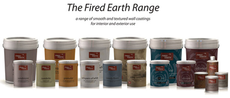 Home Dzine New Range Of Fired Earth Paints At Builders