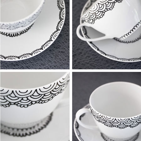 Paint on ceramics and porcelain