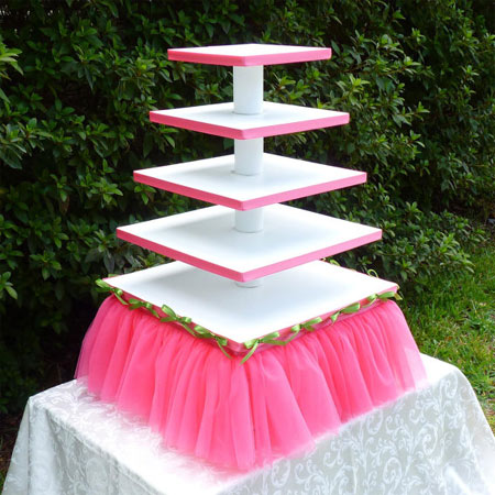 home dzine craft ideas round up of easy to make cupcake stands. Black Bedroom Furniture Sets. Home Design Ideas