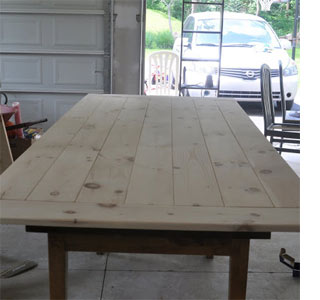 making a farmhouse table HOME DZINE Home DIY | How to make a farmhouse table making a farmhouse table