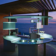 Circular kitchen design