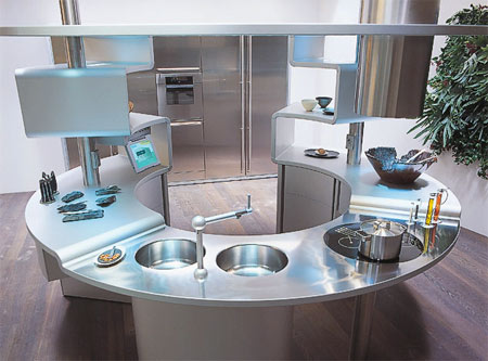 Great Circular Kitchen Designs Part 15