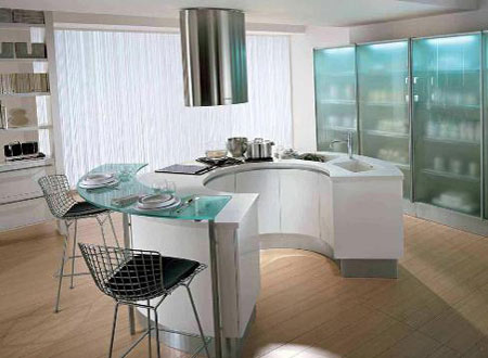 Beautiful Circular Kitchen Designs Part 22