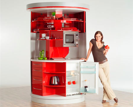 Home Dzine Kitchen Clever Compact Kitchen For Small Home