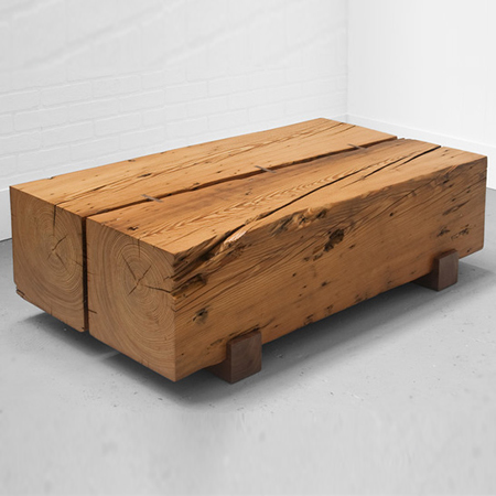Home Dzine Craft Ideas One Of A Kind Coffee Tables From Reclaimed Timber