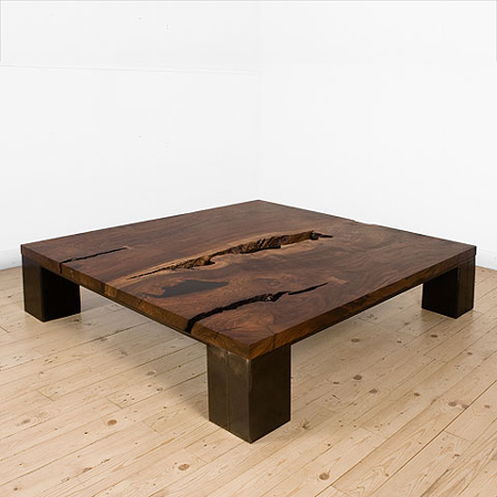 One Of A Kind Coffee Tables From Reclaimed Timber Solid Wood