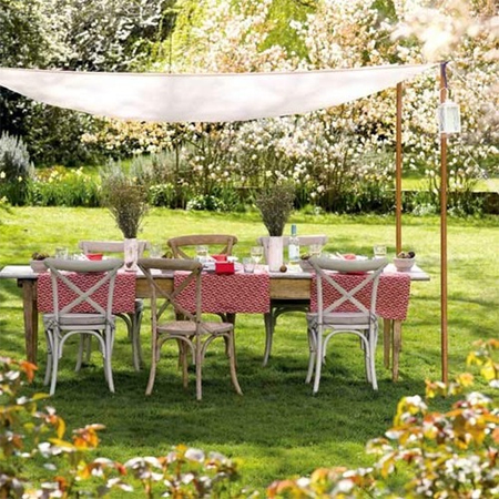 Great garden party ideas diy shadecloth