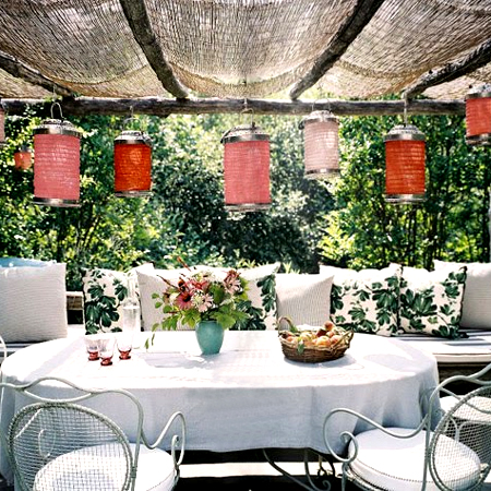 Great garden party ideas chinese lanterns