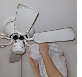Home dzine how to clean a ceiling or room fan how to clean a ceiling or room fan aloadofball Choice Image
