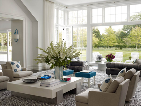 modern contemporary coastal style decor white walls neutral colours