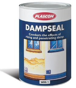 Curing damp in walls