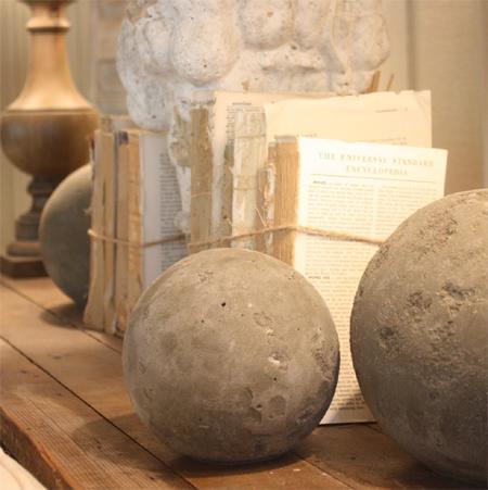 Home Dzine Craft Ideas Make Your Own Concrete Spheres