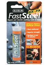 alcolin fast steel epoxy putty