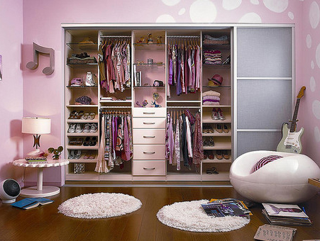 Modern Closet For Teenager