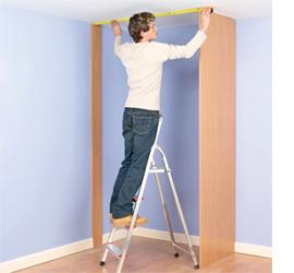 Home Dzine Home Diy Build A Closet For A Small Bedroom