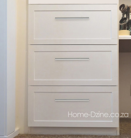 Home dzine bedrooms converting closet shelves to drawers - How much to deep clean a 3 bedroom house ...