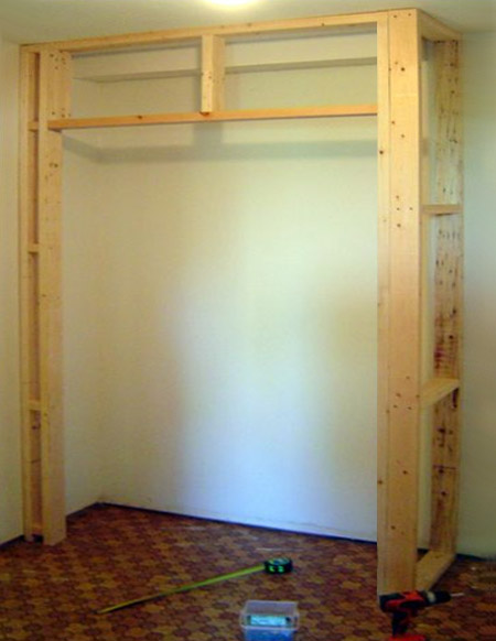 Home dzine home diy build a built in cupboard closet or for Create your own closet