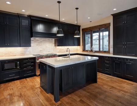 Black Or White Modern Kitchen Ideas Part 2