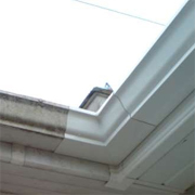 Paint gutters and downspouts with Plascon Metalcare
