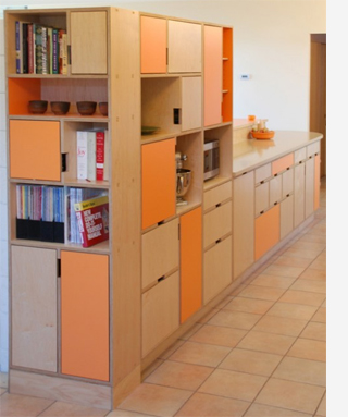 Home dzine kitchen plywood kitchen designs for Plywood cupboard