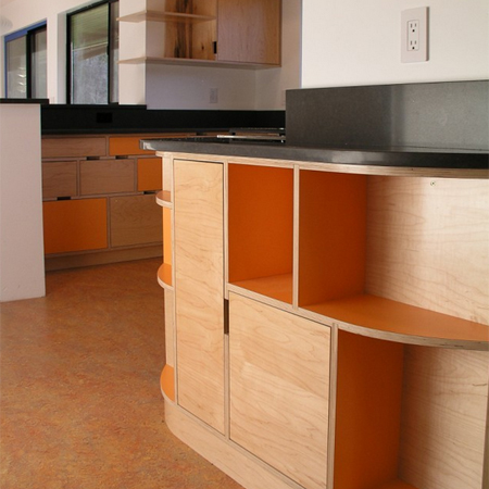 plywood kitchen - Plywood Kitchen Cabinets