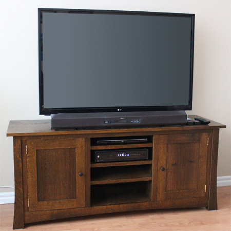 home dzine home diy make a diy flat screen tv stand. Black Bedroom Furniture Sets. Home Design Ideas