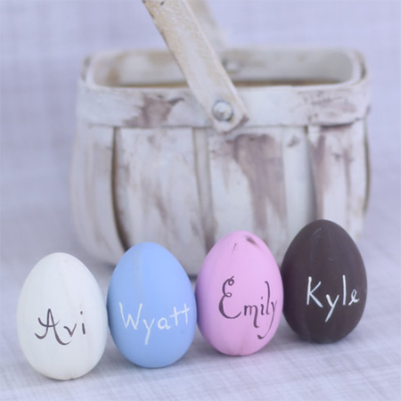 Easter egg ideas chalkboard