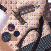Basic upholstery supplies and accessories