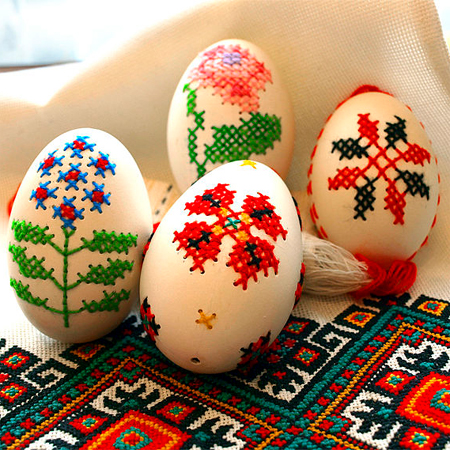 Easter egg ideas cross stitch