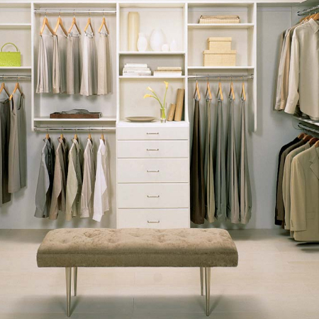 Home-Dzine - Designing and building the perfect closet