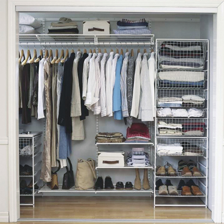 Home Dzine Bedrooms Design And Build The Perfect Closet