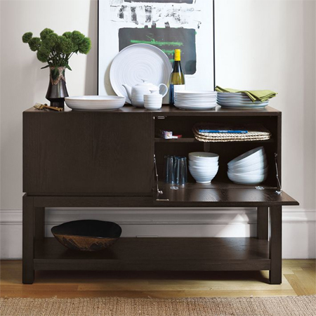 Home dzine home decor make this dining buffet or console - Small dining room servers ...