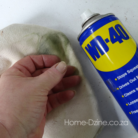home dzine home diy the easy way to get spray paint off On how to get spray paint off of hands