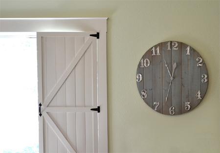 large wall clock ideas