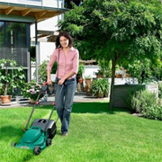 A lush green - environmentally friendly - lawn
