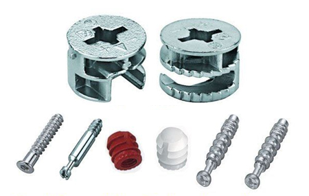 can locking screws flat pack furniture assembly