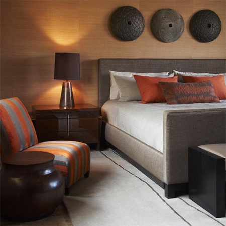 Create a boutique hotel style bedroom