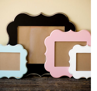 how to make a photo frame out of paper