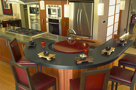 Lovely Lazy Susan Dining Table
