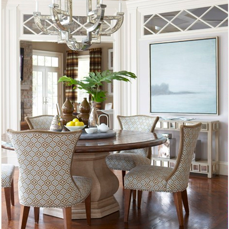 lazy susan dining table