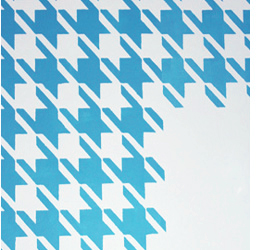 houndstooth stencil cutting edge stencils