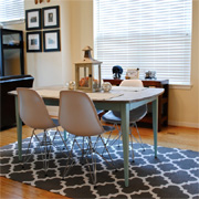 Top 5 painted stencil rug designs